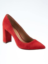 Banana Republic Madison 12-Hour Block-Heel Pump