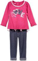 Nannette Baby Girls' 2-Pc. Love Tunic & Leggings Set