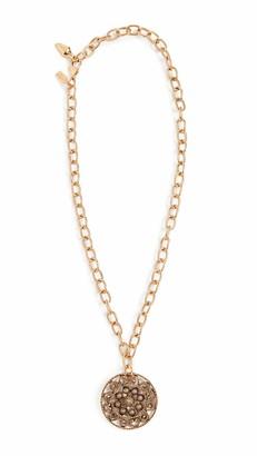Kenneth Jay Lane Women's Adjustable Antique Gold Necklace