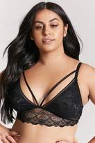 Forever 21 Plus Size Strappy Lace Bralette