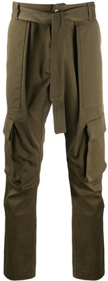 Ih Nom Uh Nit Belted Cargo Trousers