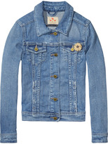 Scotch & Soda Washed Trucker Jacket | Desert Storm