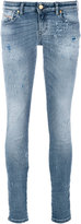 Diesel skinny jeans - women - Cotton/Calf Leather/Polyester/Spandex/Elastane - 25