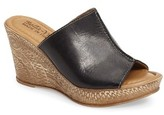 Bella Vita Women's Wedge Slide Sandal