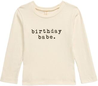 Tenth & Pine Birthday Babe Organic Cotton T-Shirt