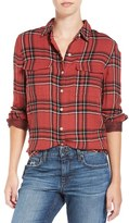 Joe's Jeans Women's 'Thatcher' Plaid Cotton Shirt
