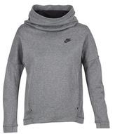 Nike TCH FLC HOODIE PO Grey