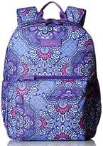 Vera Bradley Lighten Up Grande Laptop Backpack, Lilac Tapestry, One Size