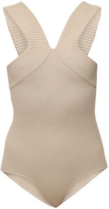 ZEYNEP ARCAY Viscose Blend Knit Bodysuit