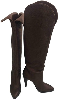 Walter Steiger Brown Leather Boots