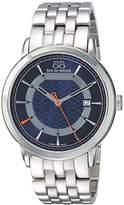 88 Rue du Rhone Men's 'Double 8 Origin' Swiss Quartz Stainless Steel Dress Watch