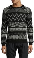 Antony Morato Intarsia Crewneck Sweater