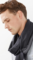 Esprit OUTLET soft large woven scarf with block stripes