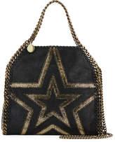 Stella McCartney Shaggy Gradient Star Mini Falabella Tote Bag