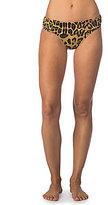 Lauren Ralph Lauren Leopard Classic Shirred Banded Hipster Bottom