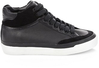 Rag & Bone RB Army High-Top Leather Sneakers