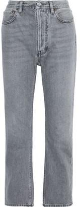 Acne Studios Log High-rise Straight-leg Jeans