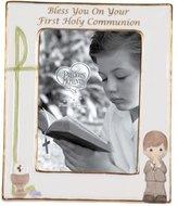 Precious Moments Communion Boy Photo Frame