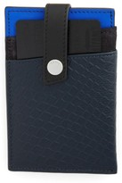 WANT Les Essentiels Men's 'Kennedy' Money Clip Card Case - Blue