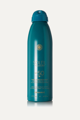 Soleil Toujours Net Sustain Spf50 Organic Sheer Sunscreen Mist, 177.4ml - Colorless