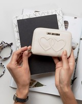 Love Moschino Double Heart Wallet