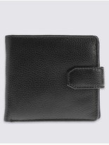 M&S Collection Leather Classic Bi Fold Coin Wallet with CardsafeTM