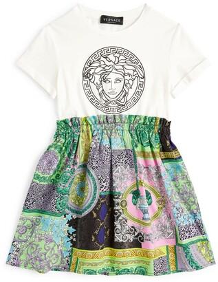 Versace Kids Baroque Print Dress (4-14 Years)