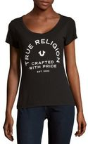 True Religion Logo-Print Short-Sleeve Tee