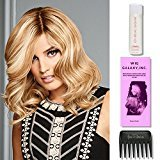 The Good Life (Human Hair) by Raquel Welch Wigs,Wig Galaxy Hairloss Booklet, Jon Renau Luxury Travel Kit, & Wide Tooth Comb. (Bundle - 7 Items), Color Chosen: SS 14-88