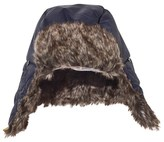 Timberland Faux Fur Lined Chapka Hat