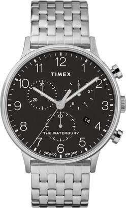 Timex Waterbury Chronograph Bracelet Watch, 40mm