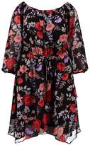 City Chic Summer dress dark poppy