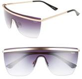 Quay 54mm Get Right Shield Sunglasses