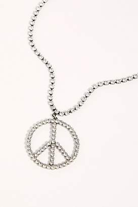 Free People Peace Out Pendant Necklace by Tova at