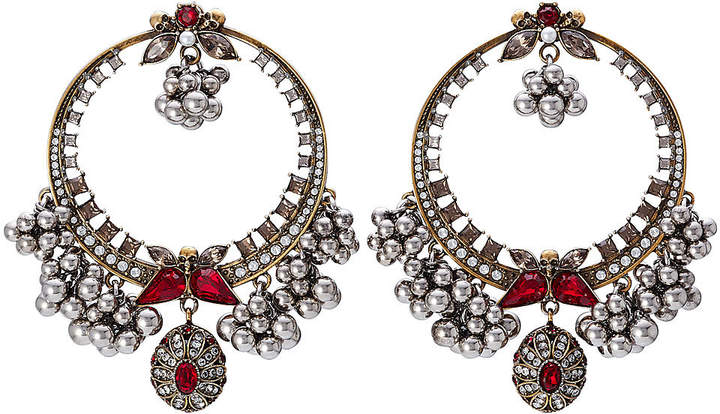 Alexander McQueen Brass Earrings