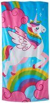 Jumping Beans Unicorn Beach Towel