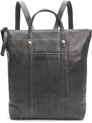Frye Melissa Zip Leather Backpack