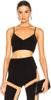 Norma Kamali Slip Sports Bra Top