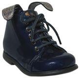 Pom D'Api Patent Boots W/ Glittered Ears