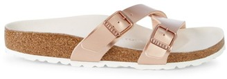 Birkenstock Yao Hex Metallic Sandals