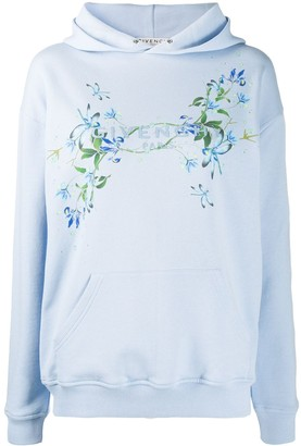Givenchy Floral-Print Hoodie
