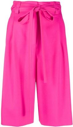 Valentino bow tie-waist Bermuda shorts