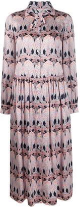 Liberty London Etoile De Mer shirt dress