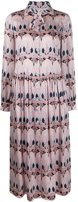 Liberty London Etoile De Mer shirt dress