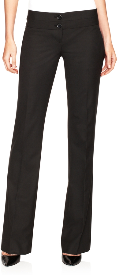The Limited Black Collection Drew Bootleg Pants