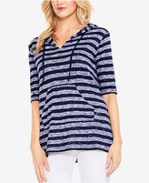 Vince Camuto Two By Striped Hoodie
