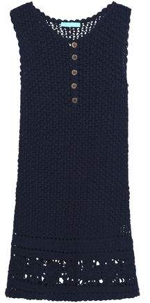 Melissa Odabash Crochet-Knit Cotton Coverup