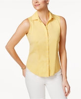 Charter Club Sleeveless Shirt, Only at Macy's