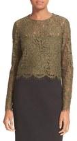 Diane von Furstenberg Women's Yeva Lace Top