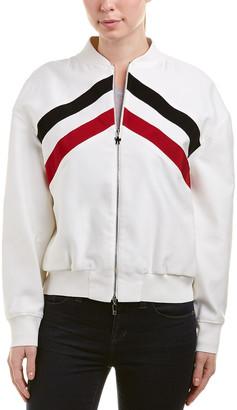 Moncler Silk-Blend Jacket